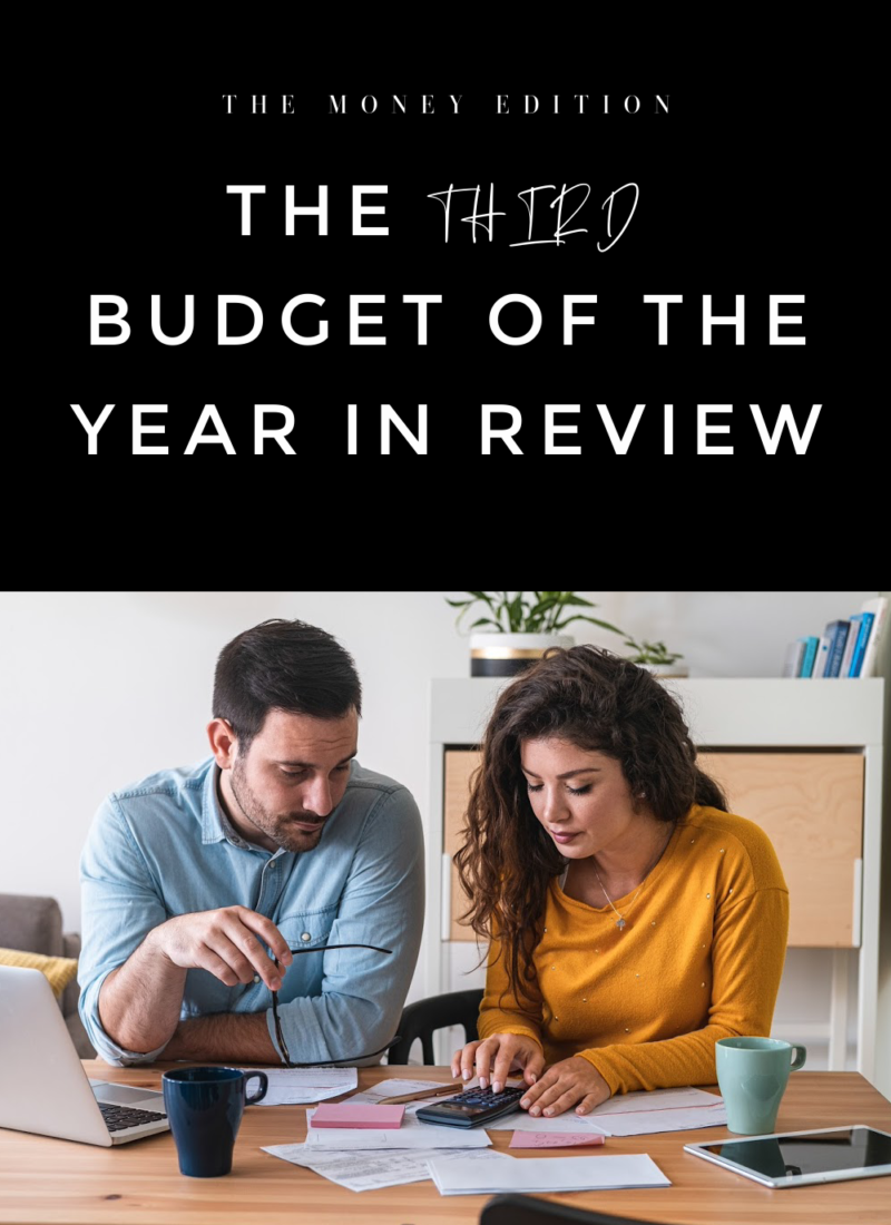 the third budget of the year in review
