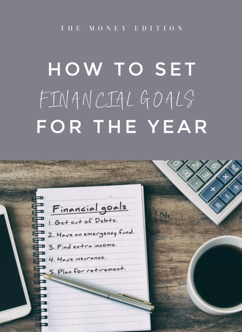 How to Set Financial Goals for the year