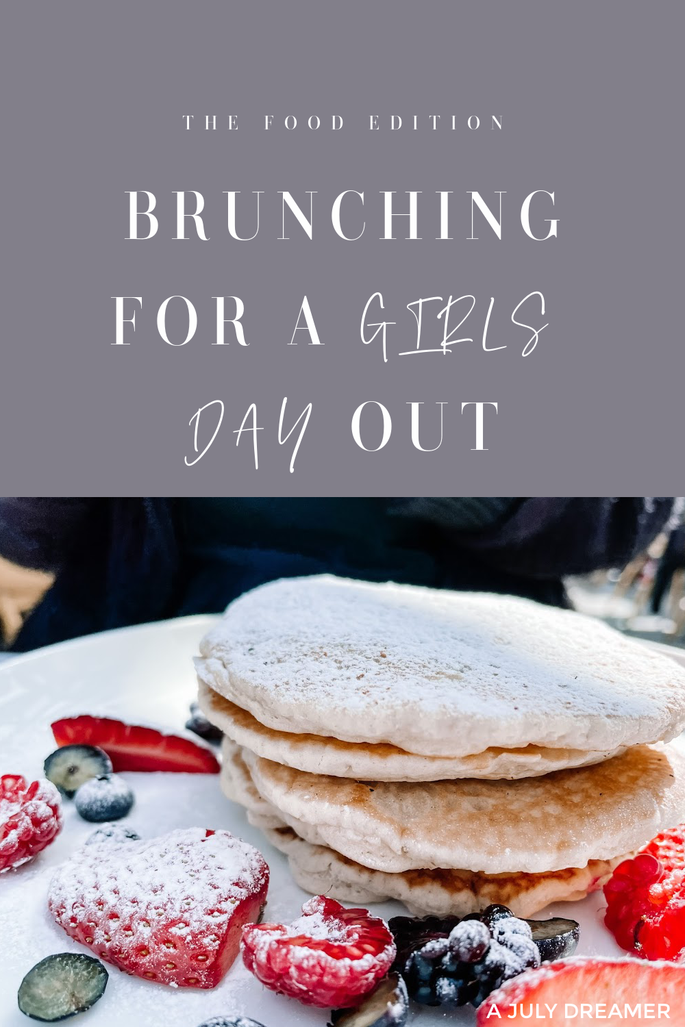 With the hospitality industry open and back with a vengeance, now is the perfect time for brunching for a girls day out. I can't not remember the last time I went out brunching with my girl friends or just eating out at a restaurant.