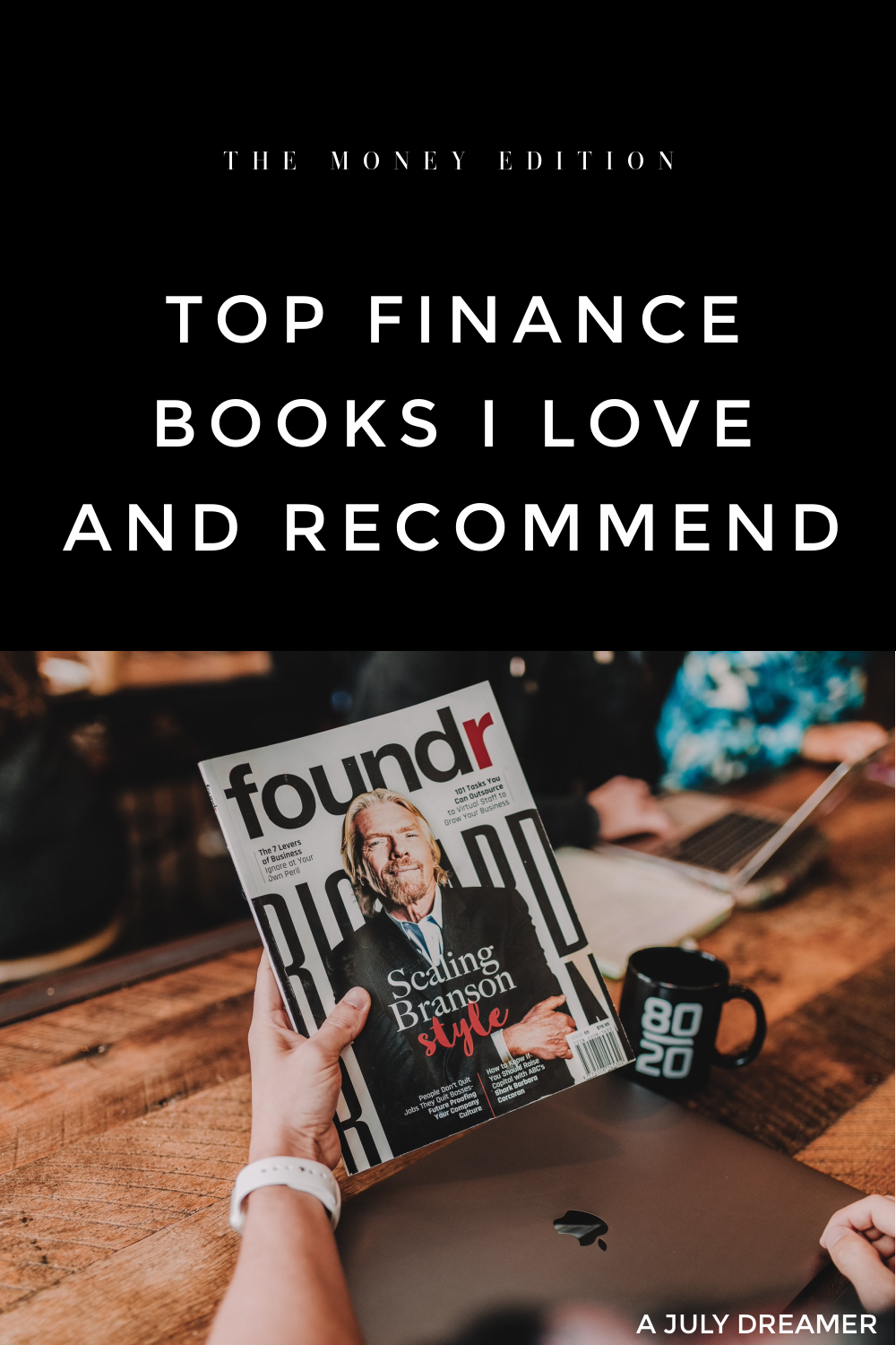 """Because I am tired of hearing people say, """"I am not good with money"""", I am sharing top finance books I love and recommend to people who want to improve their knowledge about money. Rob Moore writes in his book 'Money' that """"money flows from the hands that desire it LEAST into hands that desire it MOST"""", this is one of my favourite quotes about money. Money is not a topic most people are comfortable talking about and this has lead to people continuing to be bad at money management because 'it's not something nice to talk about how much someone earns and its their choice how they spend it'."""