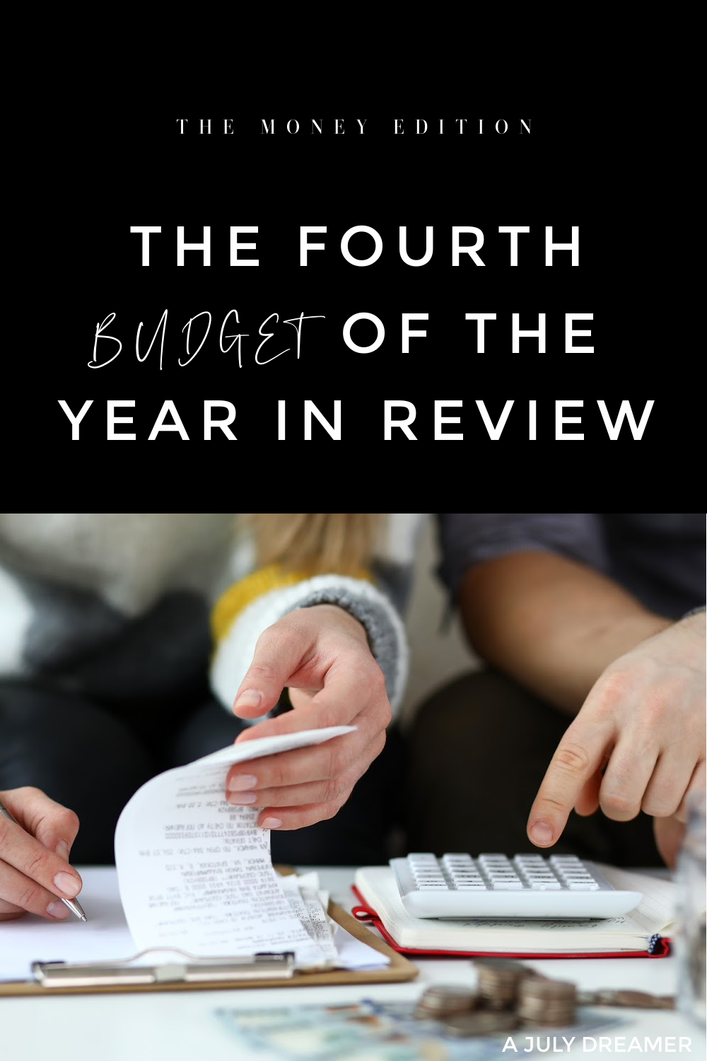 The start of a new month signals it's time to share the fourth budget of the year in review, a new series that I started at the beginning of the year as a way to share how I budget and manage my money. The fourth month of the year was the most fun one even though I blew my budget in most areas.